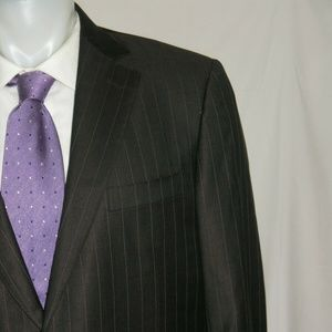 Ermenegildo Zegna Trofeo Silk Two Button Suit 42R